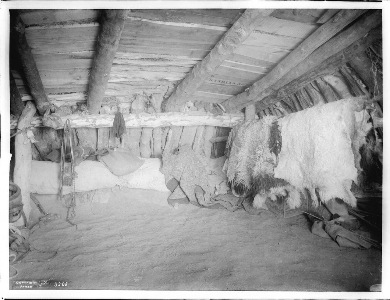 FileInterior Of A Navajo Hogan Ca1901 CHS 3208jpg