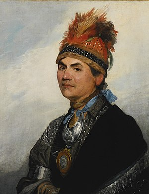 "English: ""Joseph Brant,"" oil on canv..."