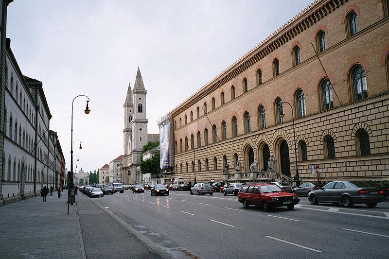 File:Ludwigstraße, München.jpg