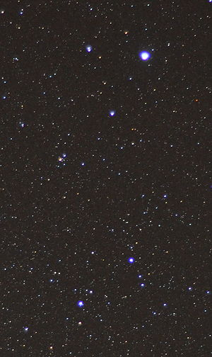 The principal stars of the constellation Lyra,...