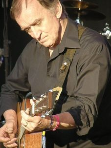 Martin Carthy performing with The Imagined Village at Camp Bestival.