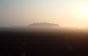 English: misty morning