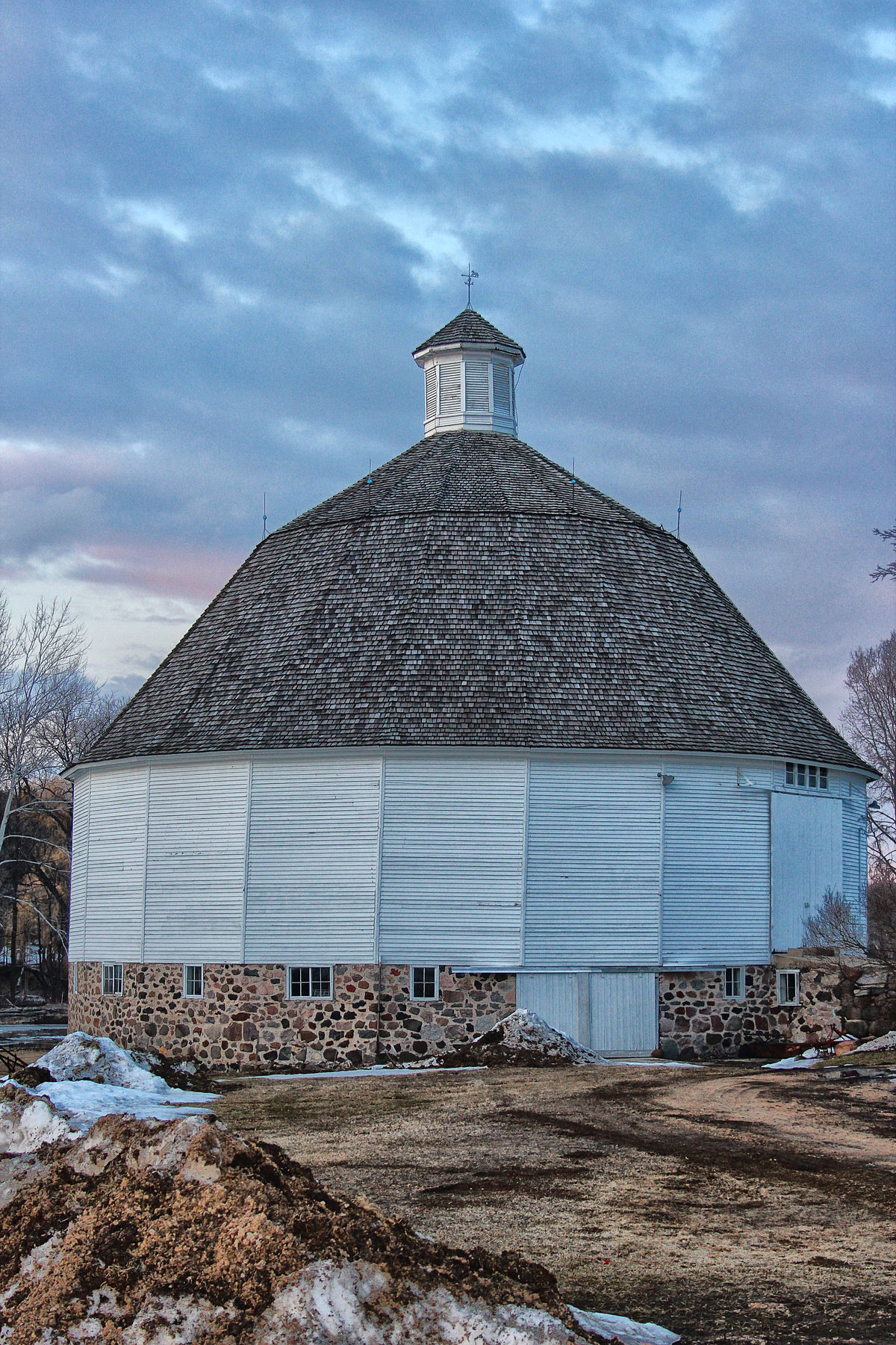 Nashold 20 Sided Barn Wikipedia