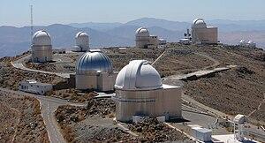Observatorio astronomico de La Silla.