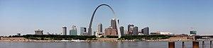 Panorama of St. Louis, Missouri, United States