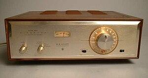 HH Scott Model 350 FM Multiplex Stereo Tube Tu...