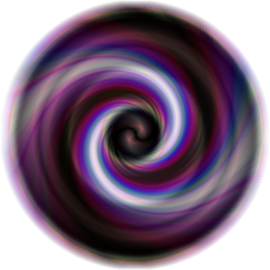 A swirly thing.