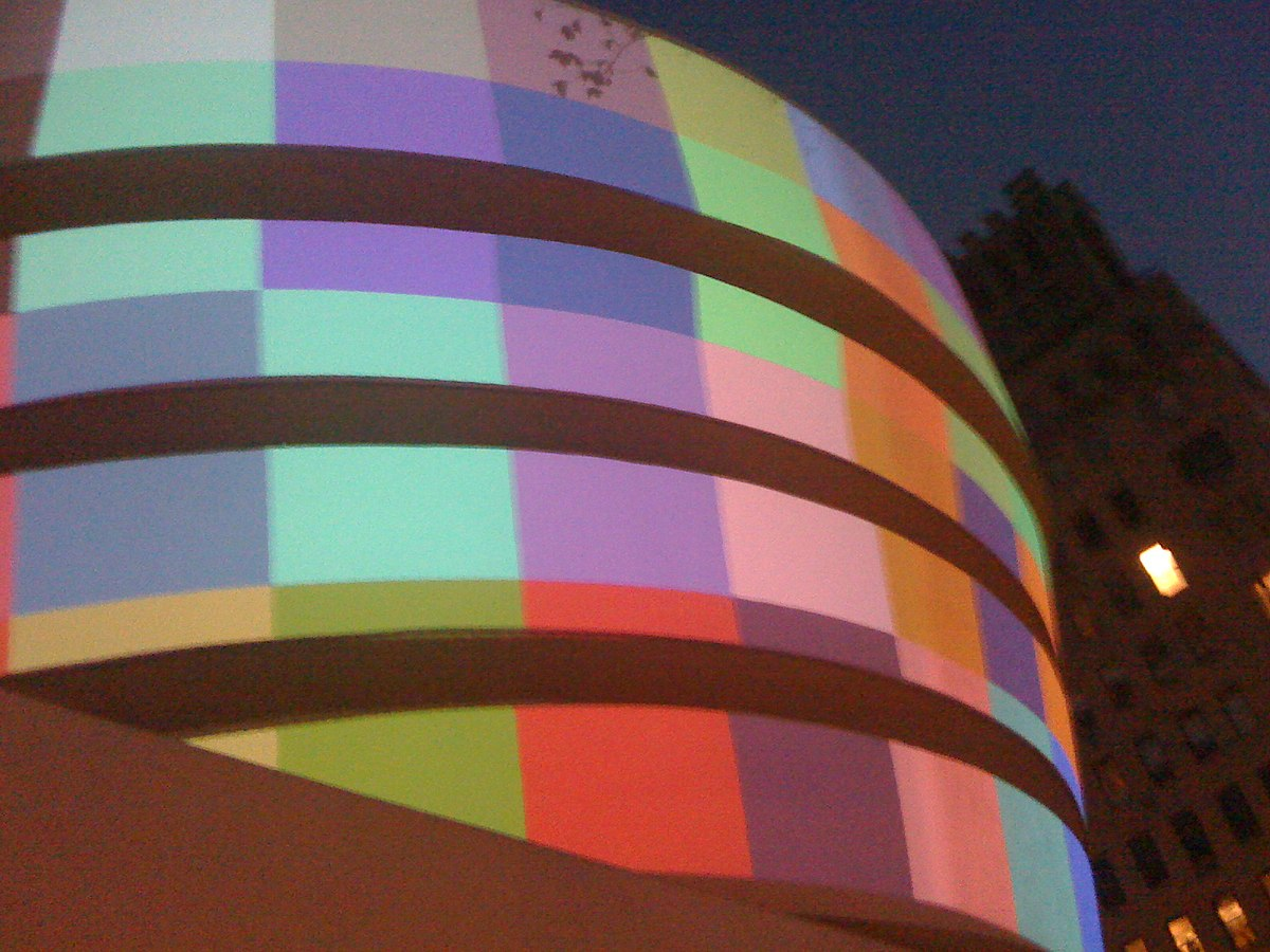 File The Guggenheim Museum One Starry Night Color Lights