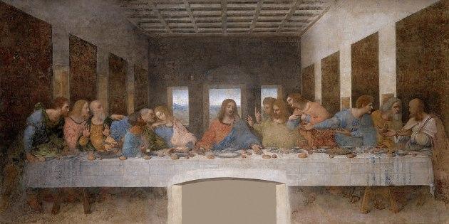 La Cène (Léonard de Vinci) — Wikipédia