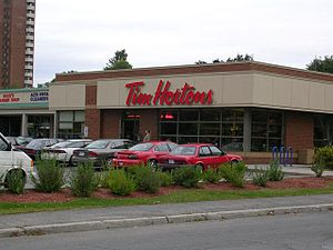 Tim Hortons in Ottawa, ON, Canada