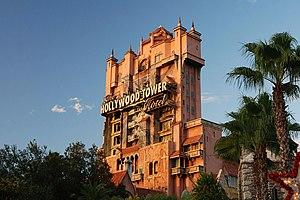 Tower of Terror ride - Disney's MGM - Orlando