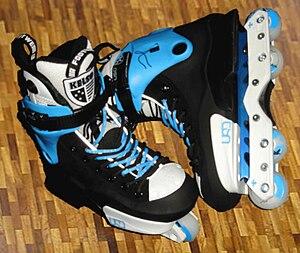 Deutsch: USD Classic Throne Sean Aggressive-Skates