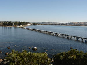 Victor Harbor, Southern Australia, seen from G...