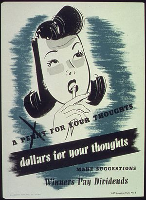 A penny for your thoughts...Dollars for your t...