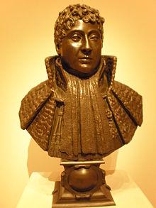 Portrait du marquis d'Aligre, bronze de François-Joseph Bosio (1768-1845), 1er quart du XIXesiècle, California Palace of the Legion of Honor, San Francisco.