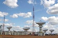 Estación Terrena de Control principal, en el Estado Guárico.