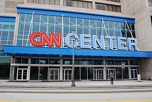 English: The CNN Center in Atlanta.