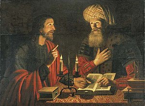 Jesus and Nicodemus, Crijn Hendricksz, 1616–1645.