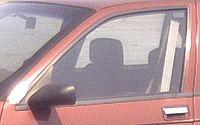 Cinturón automático en un Chevrolet de finales de los años 1980
