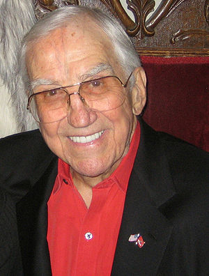 Ed McMahon at Red Square in Mandalay Bay.