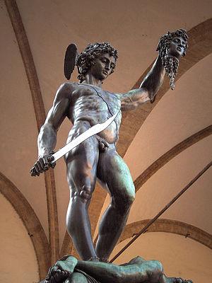 Perseus by Benvenuto Cellini, Loggia dei Lanzi...