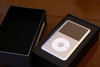 English: Apple iPod classic (6th gen. 160GB si...