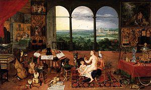 Jan Brueghel (I) - The Sense of Hearing - WGA3574