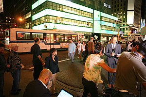 English: Lehman Brothers headquarters in New Y...