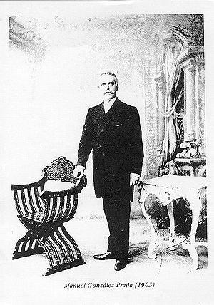 fotografia de 1905 de Manuel González Prada