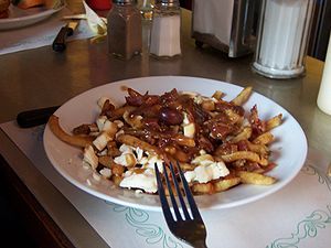 Poutine from Patati Patata in Montreal