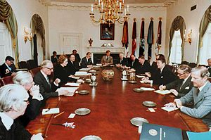 Ronald Reagan's Cabinet and Margaret Thatcher'...