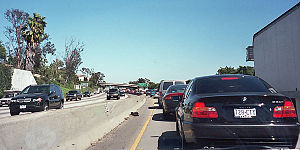 Santa Monica Freeway (Interstate 10), eastboun...