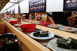 Conveyor belt sushi  Wikipedia