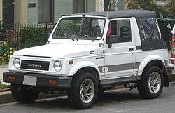 Suzuki Jimny (USA-spec Samurai)