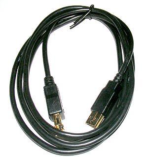 """A """"Tripp-lite"""" USB connection cable...."""