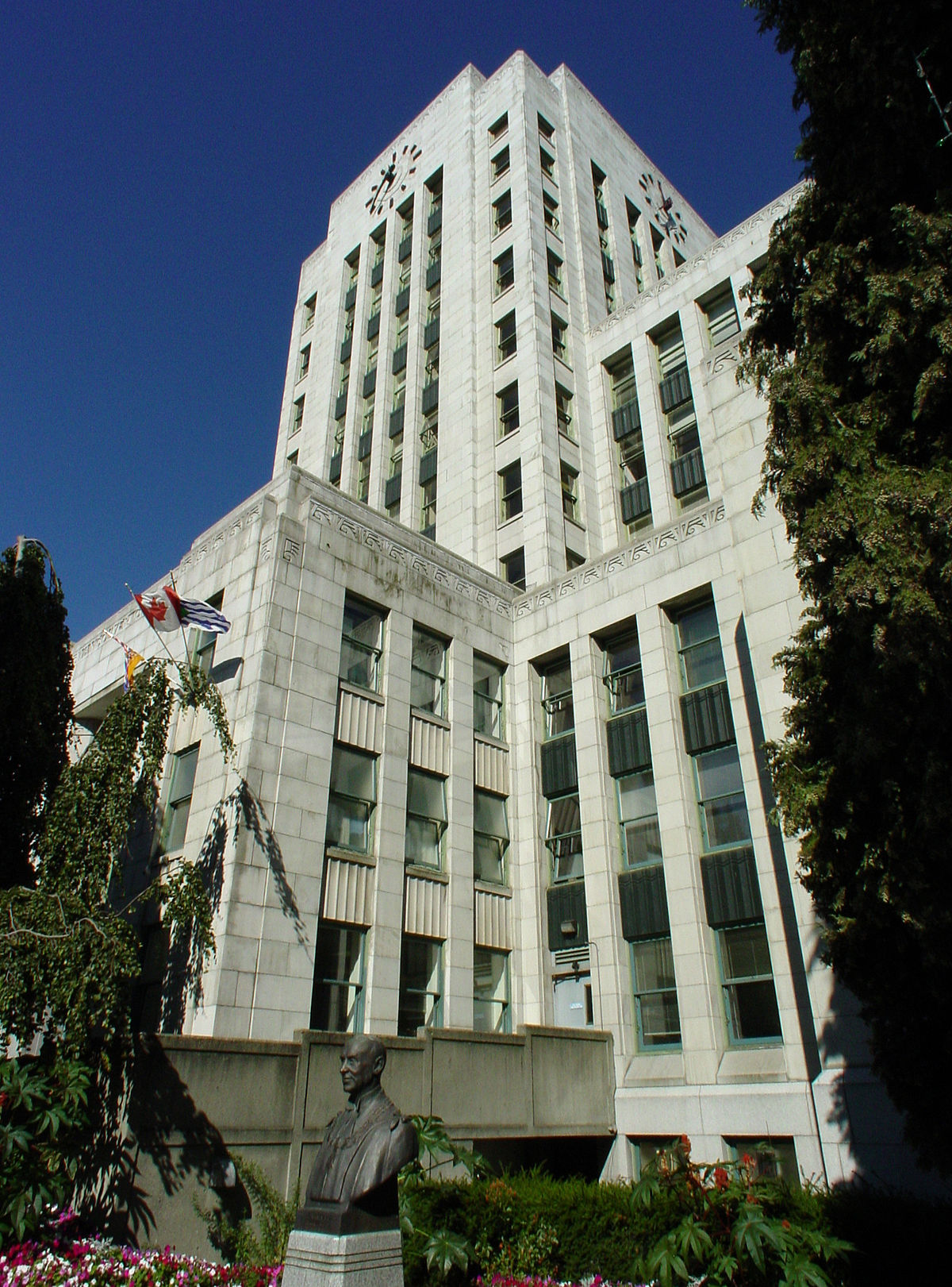 Vancouver City Hall Wikipedia