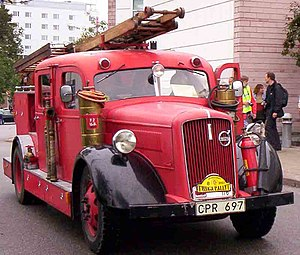 Volvo B11 Fire Engine 1938