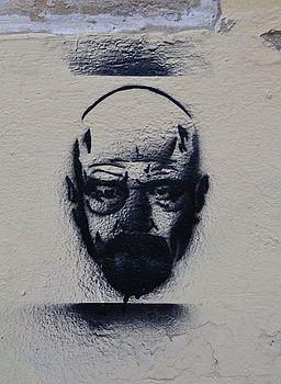 Walter White al carrer d'Eixarchs, València