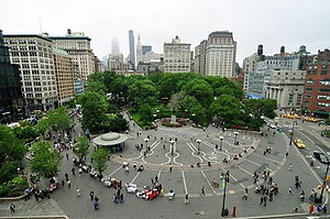 Union Square Manhattan New York City 2010