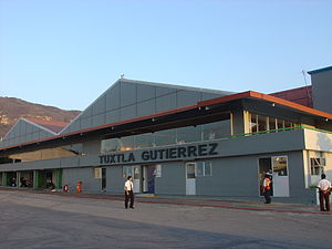 English: Old airport of Tuxtla Gutiérrez, Chia...
