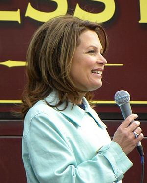 US Representative Michele Bachmann (R-Minn) ad...