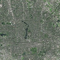 Beijing by SPOT Satellite