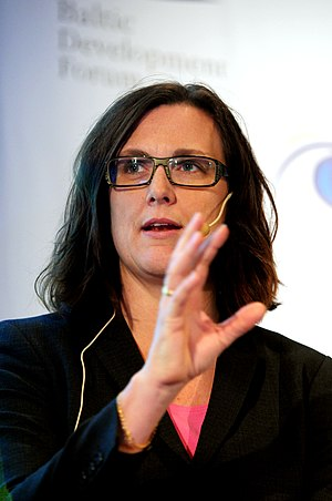 English: Cecilia Malmström, Minister for EU Af...