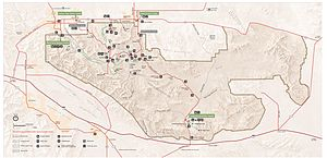 Joshua tree national-park map