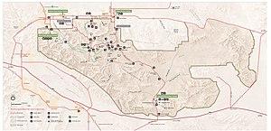 Joshua tree national-park map