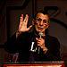 English: Leonard Nimoy (Spock) at the Las Vega...