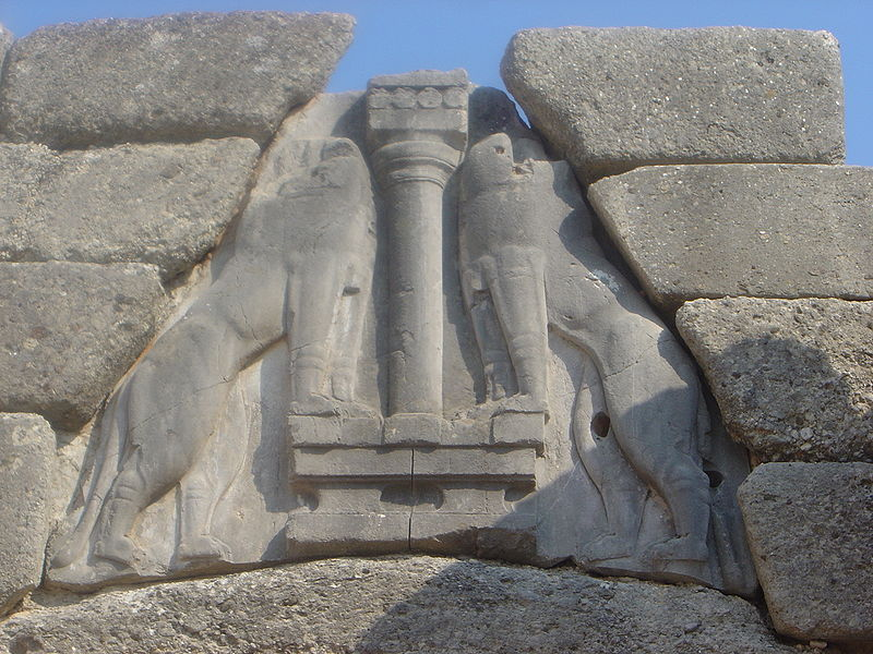 File:Mycenae lion gate detail dsc06384.jpg