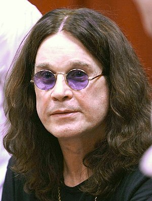 Ozzy Osbourne, Prince of Darkness, at the I Am...