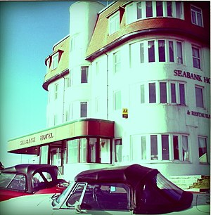 English: Seabank Hotel, Porthcawl