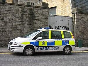 The Garda Trafic Corps in Dublin